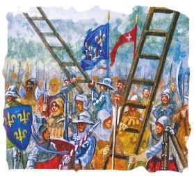 Armée d'ordonnance Charles VII dans DBA etendart